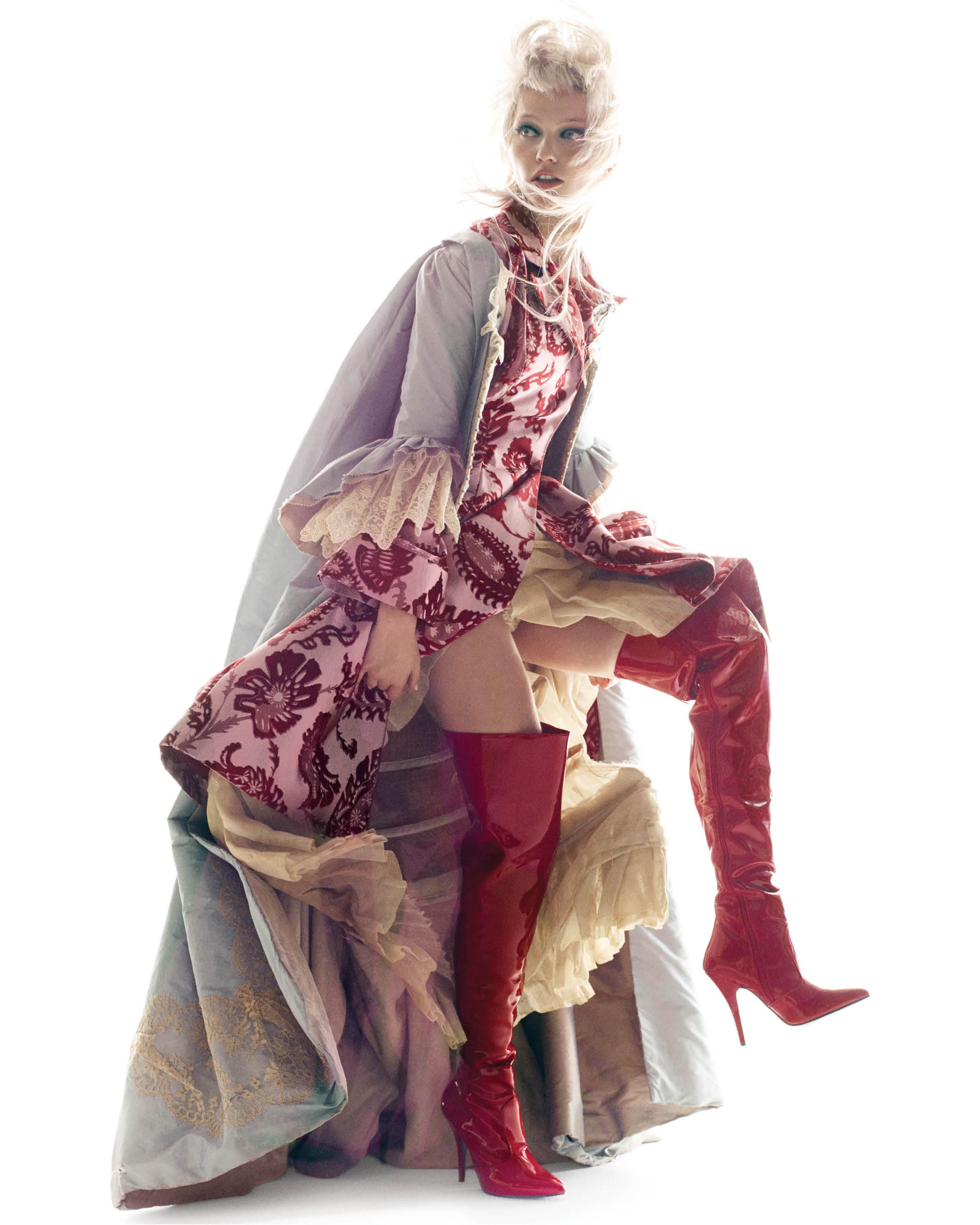 Sasha Pivovarova | CR Fashion Book