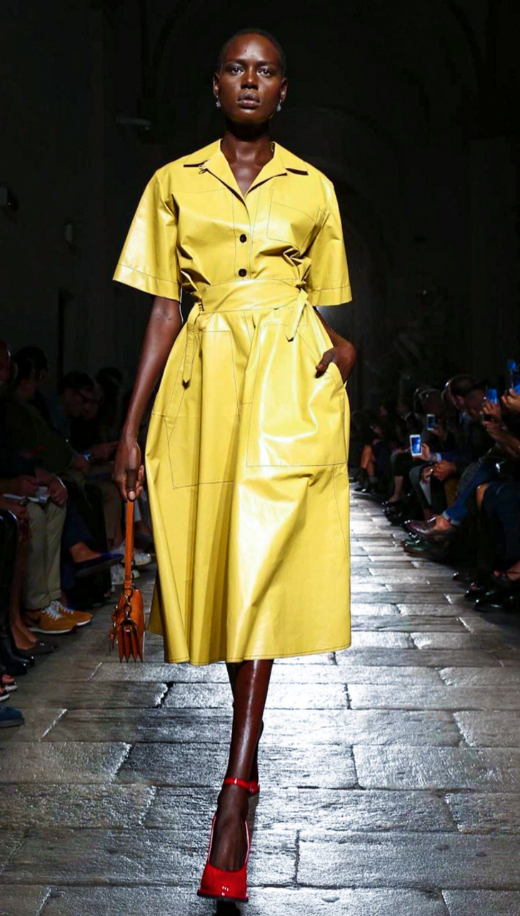 Image result for his and her yellow outfits s/s 2017