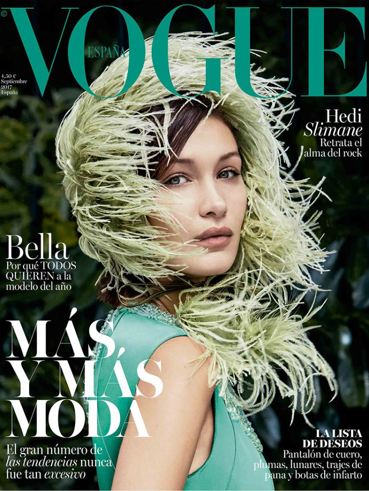 Bella Hadid | Vogue Spain September 2017