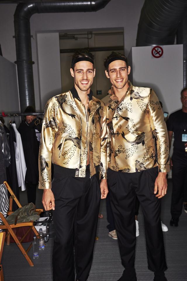 Jordan & Zac Stenmark | Emporio Armani