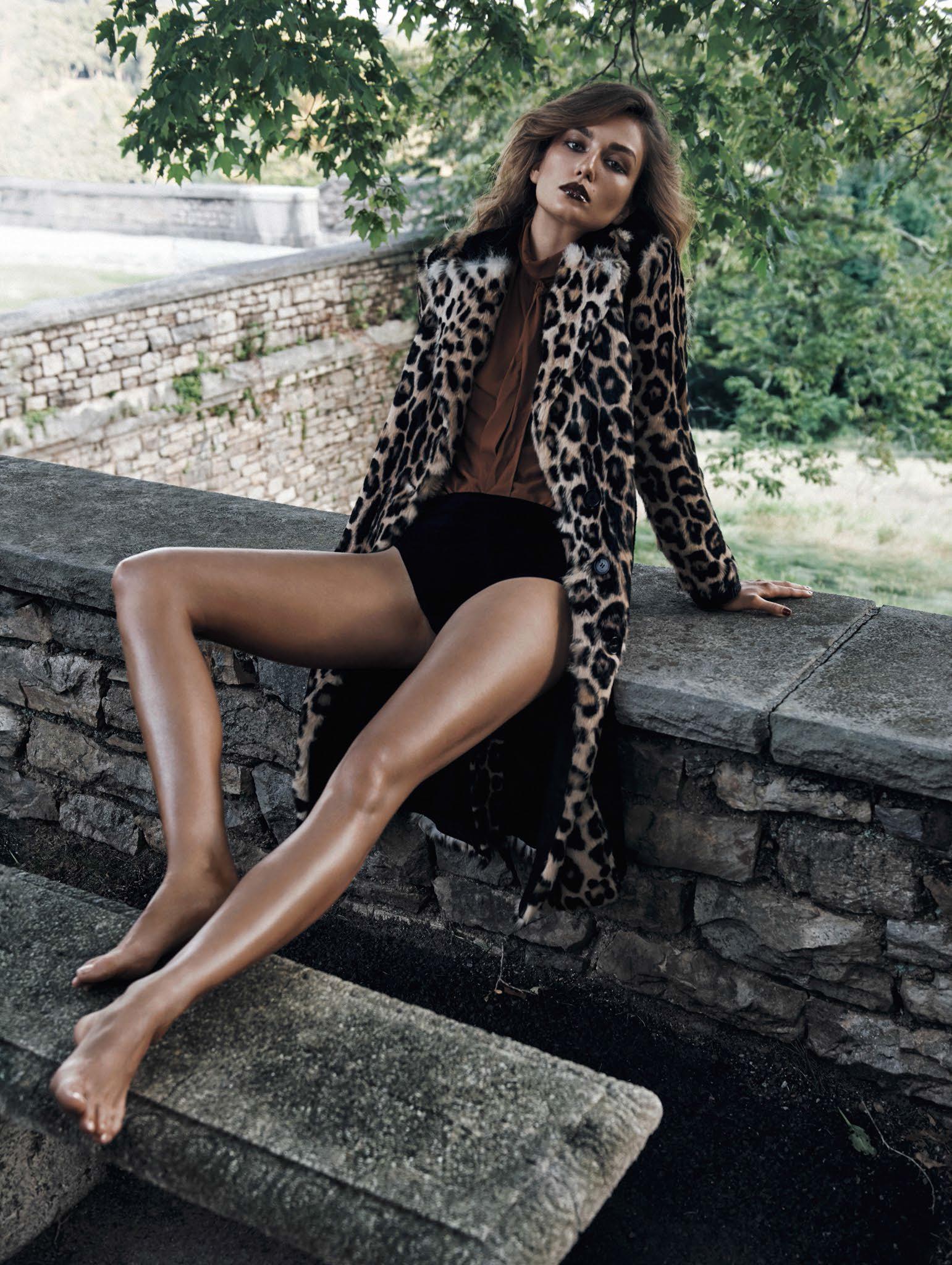 Andreea Diaconu   Vogue China November 2015