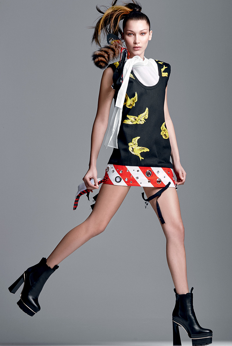 Bella Hadid Elle Brazil February 2016 Img Models
