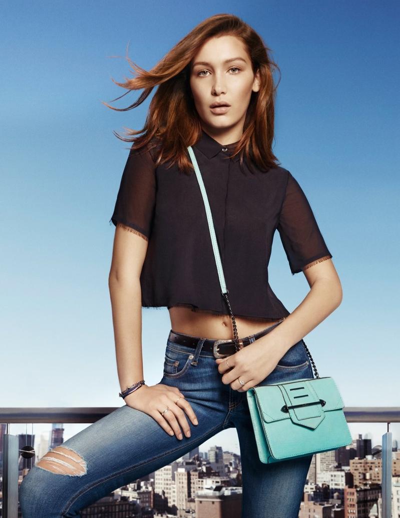 Model Height Of Img Models Bella Hadid Botkier S S 2015