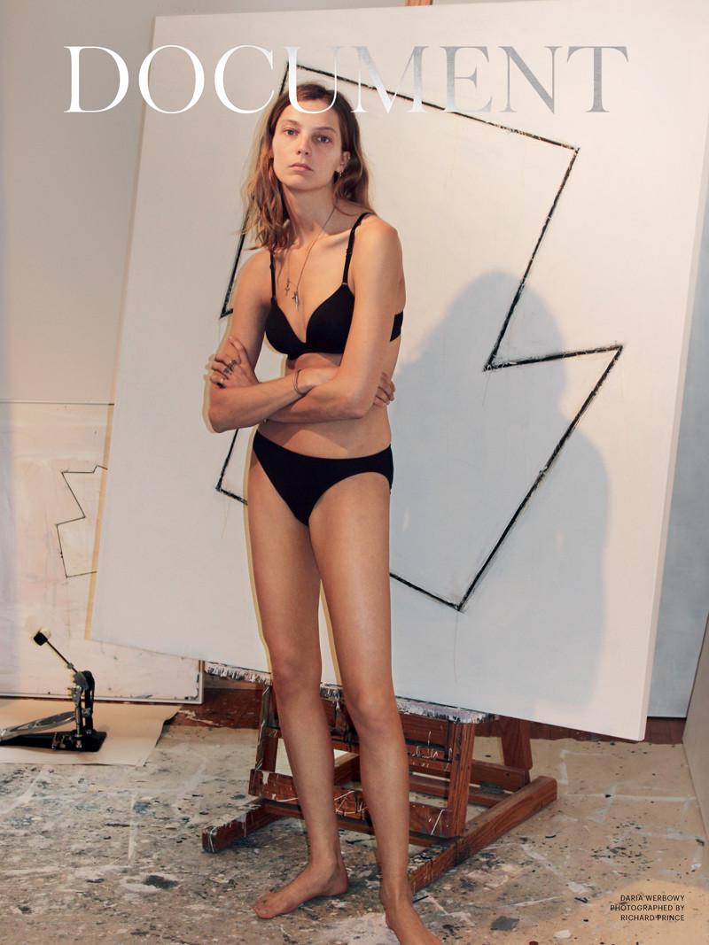 Daria Werbowy Ireland Img Models Daria Werbowy For