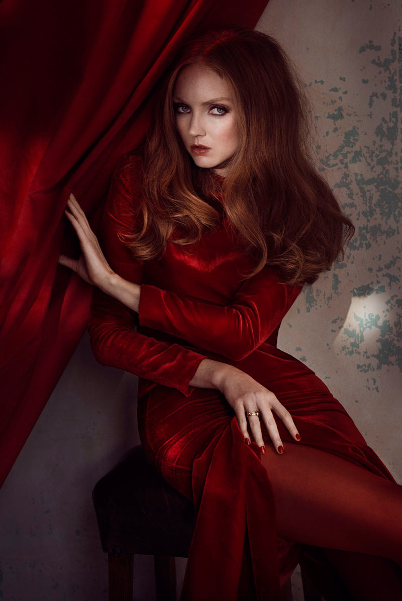 lily cole chanel