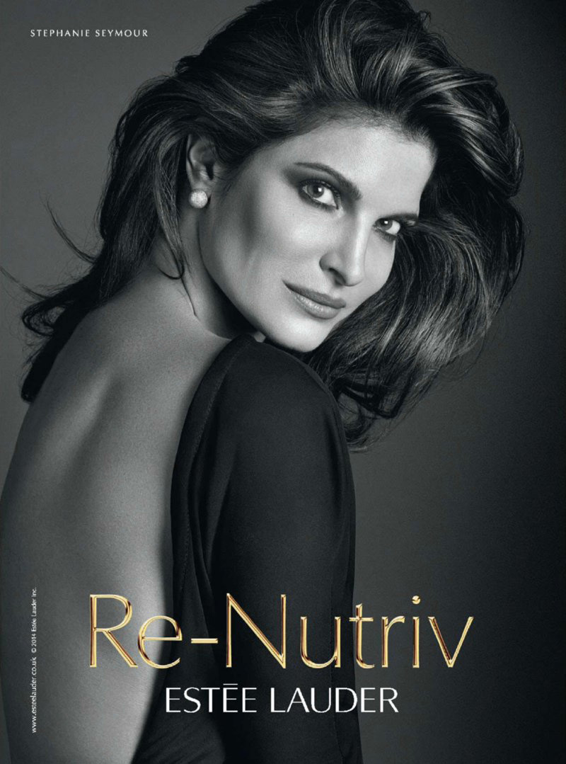 Stephanie Seymour for Estee Lauder | IMG Models