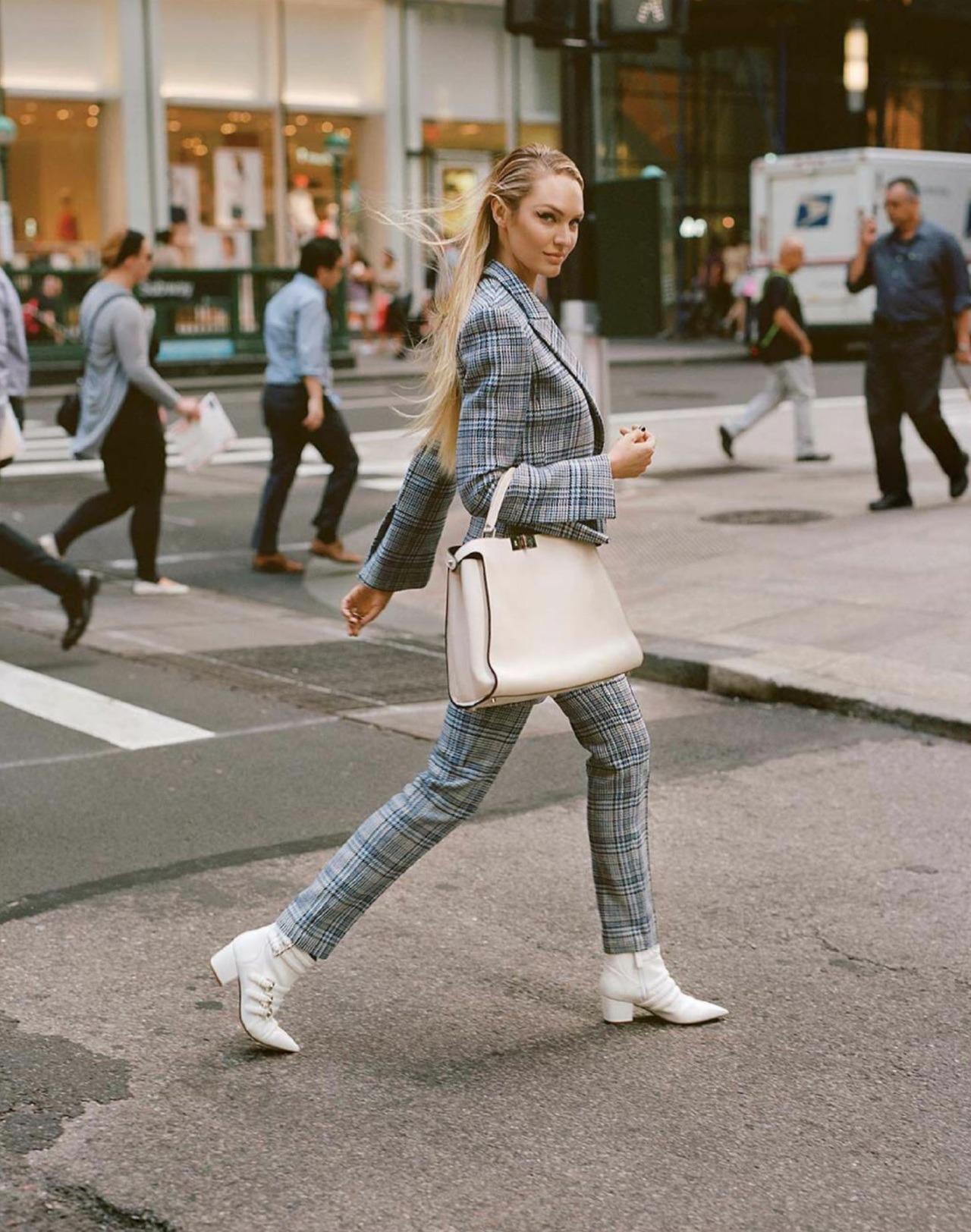 alittleagency melissa  Candice & Romee | Vogue August 2017