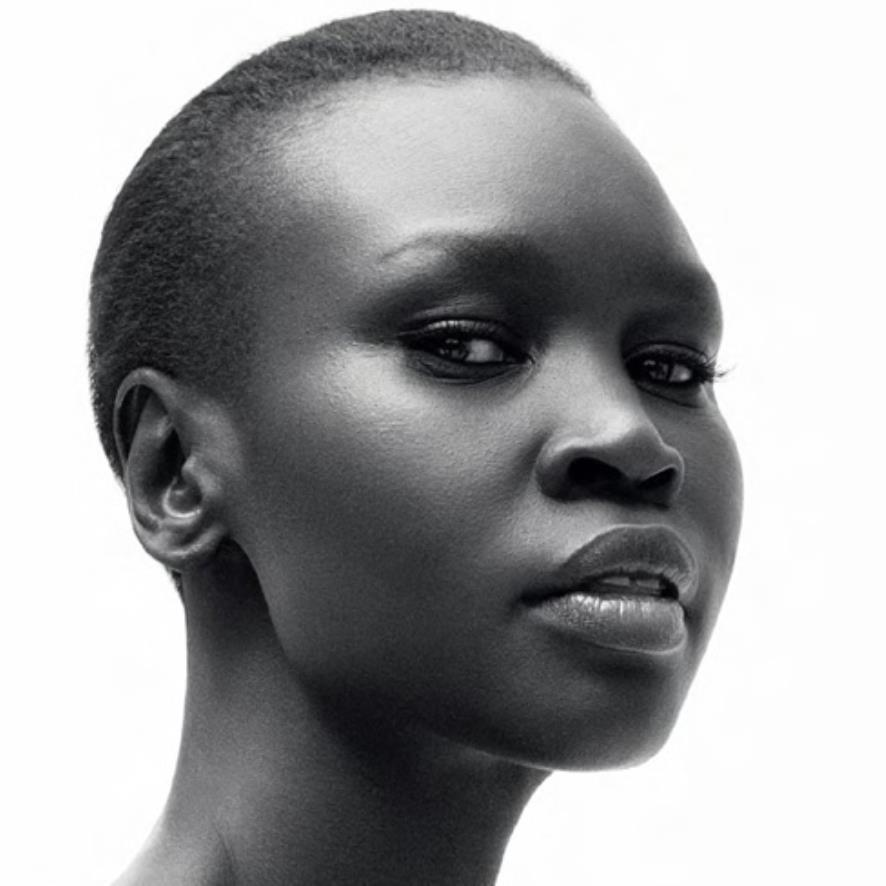 Alek Wek, 41, has spoken out about being Elle Magazine's first African cover girl The model, who was born in Sudan, grew up during the violent civil war Recalls finding neighbours dead, bombings.