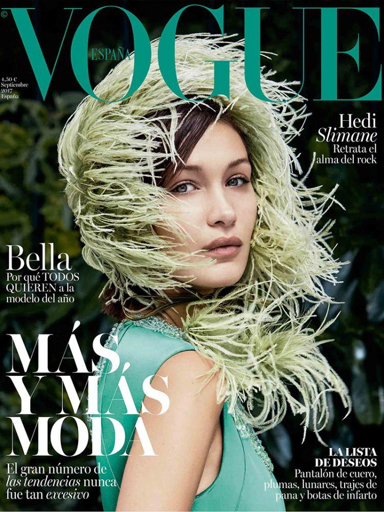 Bella Hadid | Vogue Spain September 2017