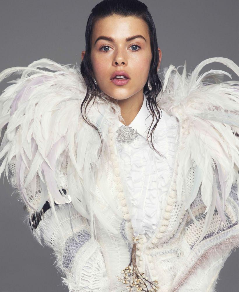 Georgia Fowler | Elle March 2017 | IMG Models
