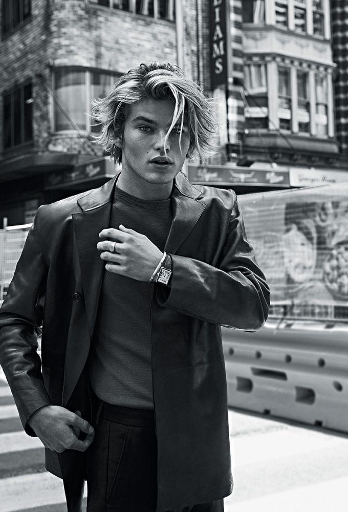 lente avaro moco  Jordan Barrett | GQ Australia January 2017 | IMG Models