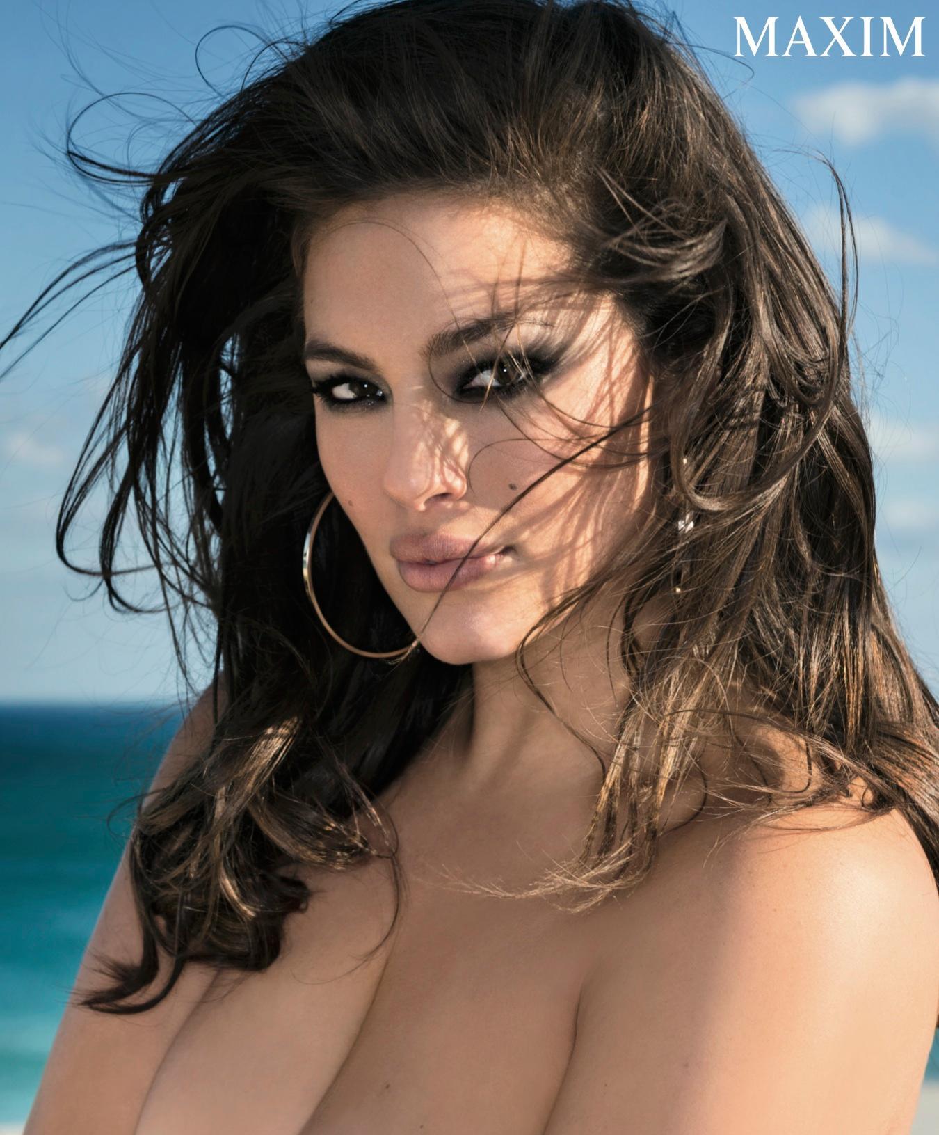 Ashley Graham Maxim April 2016 Img Models