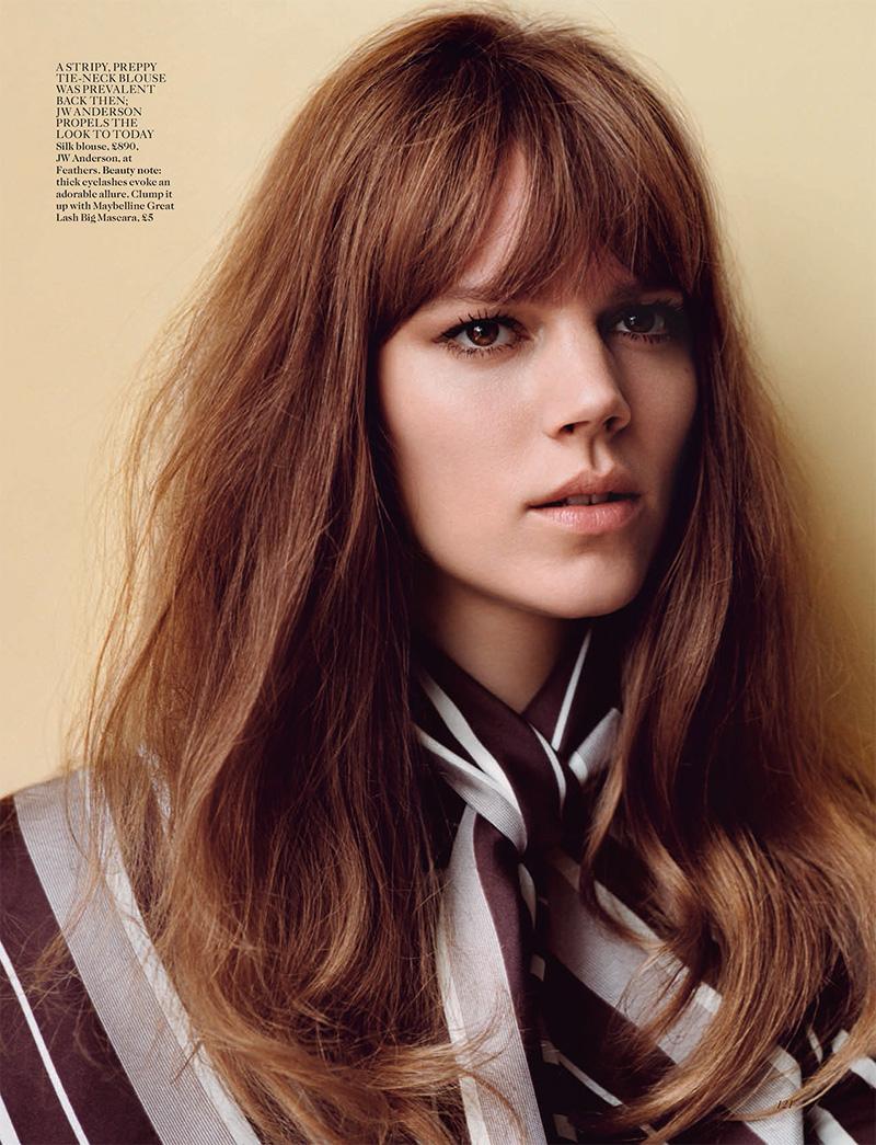 Freja Beha Erichsen British Vogue January 2015 Img Models