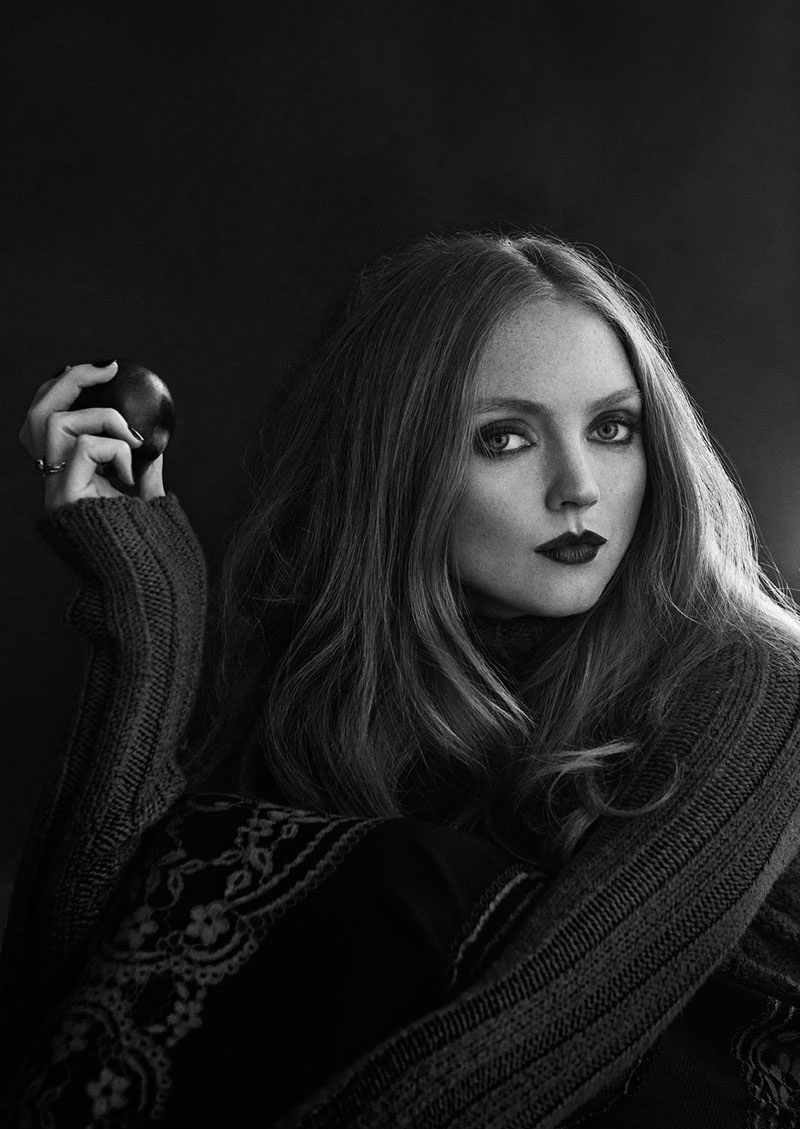 Lily Cole  Glamour Italia January 2015  Img Models-8950