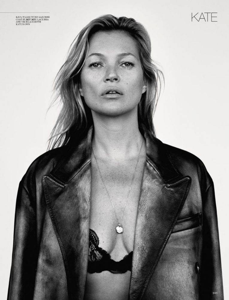 Kate Moss Is The Queen Of Cool On 37th Vogue Uk Cover: IMG Models